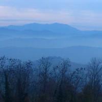 Atmosfera magica delle nostre colline