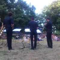 Concerto di saxofoni sul Sasso Simone